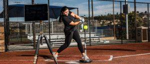 Blast sensor softball coach Lauren Chamberlain