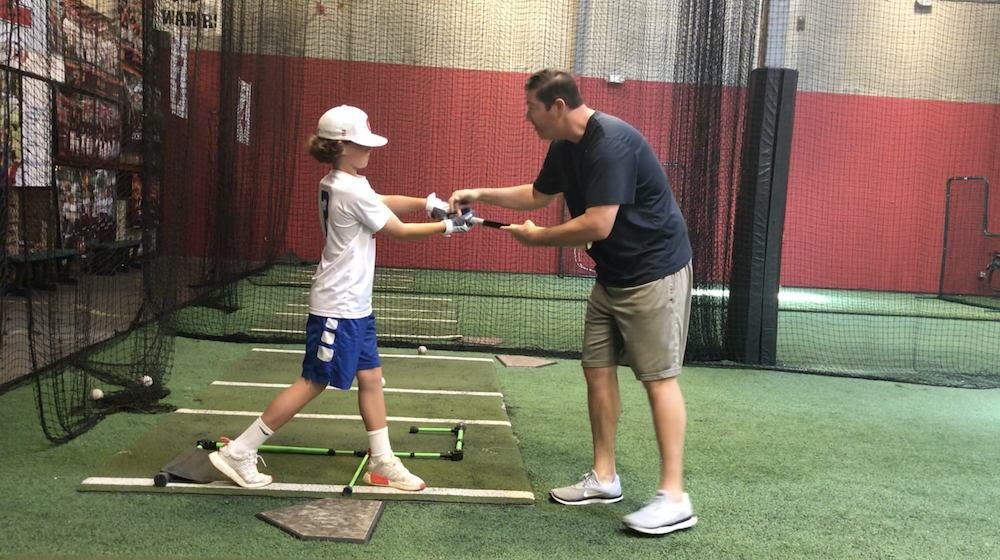 Jake Epstein baseball hitting lesson